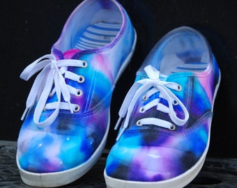 Galaxy Shoes/ Tie Dyed