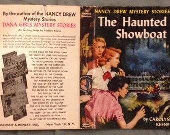 Nancy Drew - The Haunted Showboat by Carolyn Keene in Nice Dust Jacket