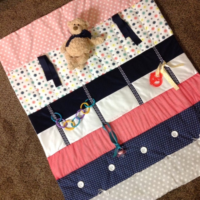 Easy Play Mat Pattern Baby Tummy Time Quilt Sensory Mat