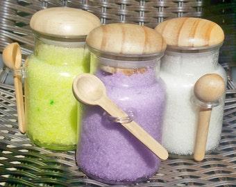 Sugar Scrub Jar with Spoon