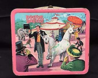 Dr Doolittle Vintage 1967 Lunchbox