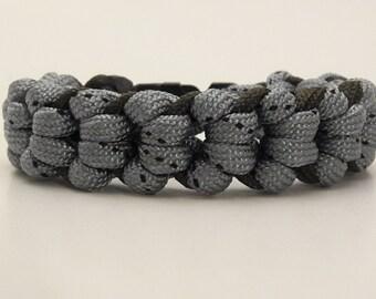 Paracord Bracelet, Cool Woven Hot Color