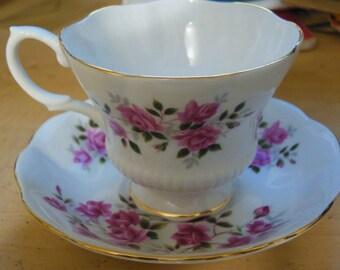 Royal Albert Bone China Saucer & Cup