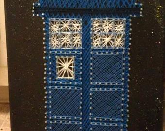 TARDIS String Art