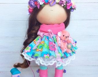 Flowers doll