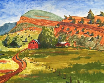 The Red Butte