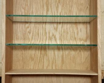 Display case shelf