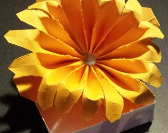 Paper 16 petal flowers