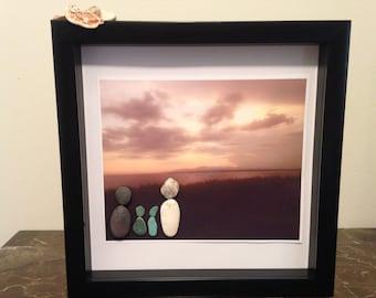 Pebble Art Gift Pebble Art Family Personalized Family