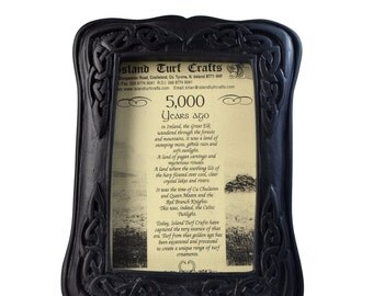 "Irish Turf Celtic Picture Frame (8'' x 6"") [T23]"