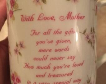 Vintage Mother's Mug