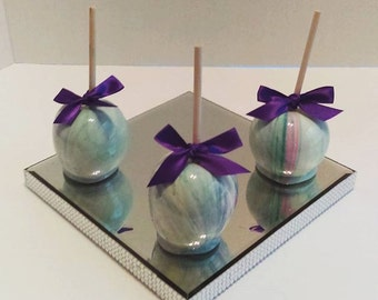 12 Marble Candy Apples