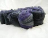 Greys and Purple Art Batt...