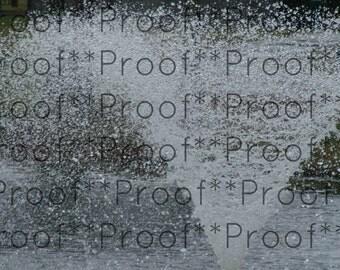 """Fountain Lithograph 11"""" x 14"""""""