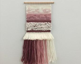 SALE | Posy | Woven Wall Hanging | Weaving | Tapestry | Wall Art | Fibre Art | Handwoven