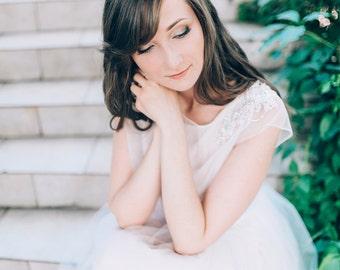 Wedding dress - Blossom -  unique wedding gown. Bridal gown