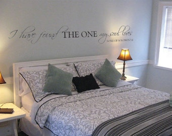 Song of Solomon vinyl wall decal