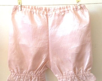 Baby girl pantaloons, Taffeta pants, baby pink bloomers, special occasion, wedding occasion, South African shop, made to order.