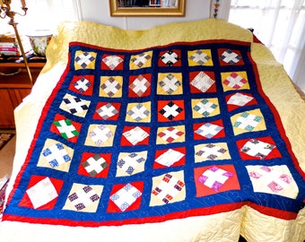 Heirloom Queen Size Quilt 9 Path Style
