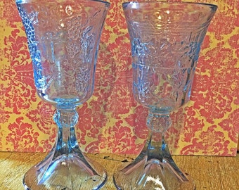 Tiara Indiana Last Supper Wine Glass Set.
