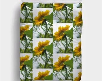 Giant gold sunflower Bedding Duvet Cover