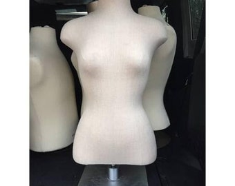 Half body female cloth mannequin