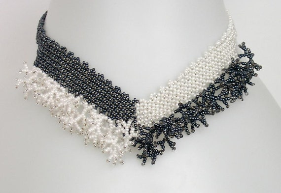 beaded rope necklace instructions