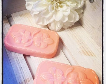 Handcrafted Shea Butter Soap Floral Bars