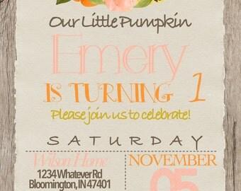 Your little pumpkin!