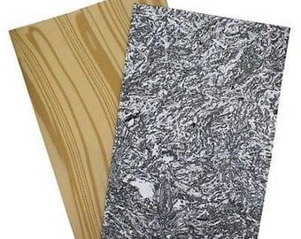 Chenille Kraft WonderFoam 10-Sheets - Wood & Marble New