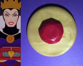 Evil Queen Brooch, Wicked Queen Brooch, Perfect for your Evil Queen Costume and Disneybound!