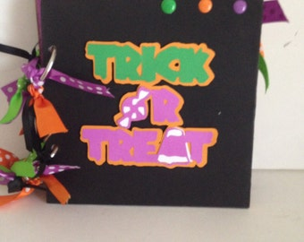 Halloween 6 x 6 Chipboard Album