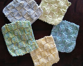 Organic cotton dishcloth