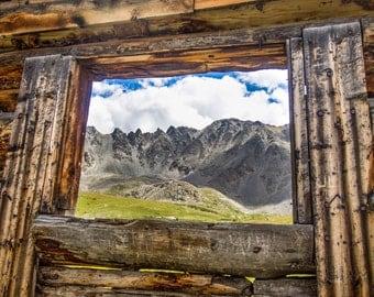 Mountain Photography, Colorado Photography, Landscape Photography, Colorado, Cabin Art, Full Color Print and Canvas, Melissa Stringer