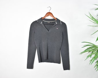 Vintage Grey Polo Ralph Lauren Sweater