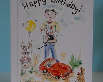 Car Birthday (Remote Control)