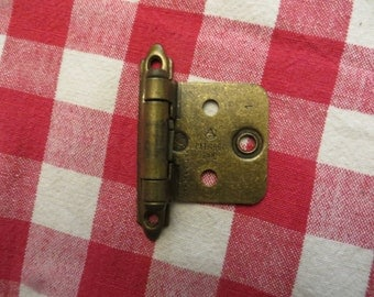Vintage 1960's cabinet door hinges made in Canada  w/ free ship