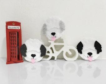 English Sheepdog pin