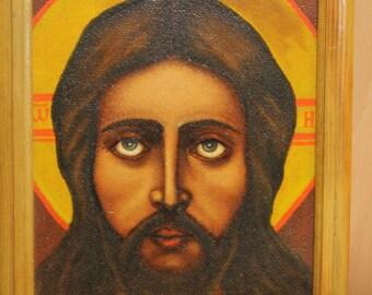 vintage jesus icon