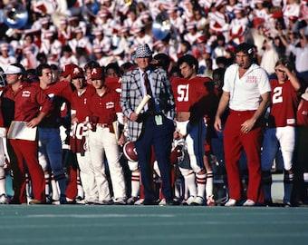 Alabama Crimson Tide Coach Bear Bryant 8x10 Photo Bama