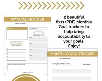 My Monthly Goal Tracker
