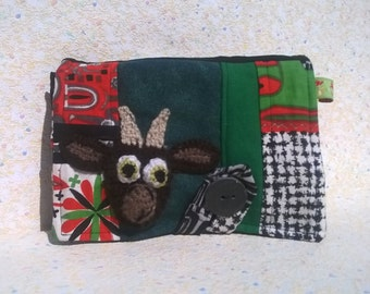 "Wallet multi-poche, ""Which makes goat"", ""Southern jungle trip"""