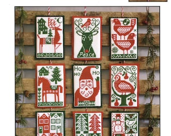 Nordic Holiday by Prairie Schooler Counted Cross Stitch Pattern/Chart