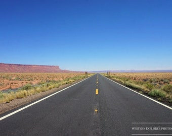 Open Road Photograph Digital Download