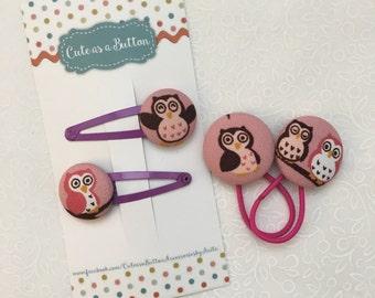 Owl Hair Accessories