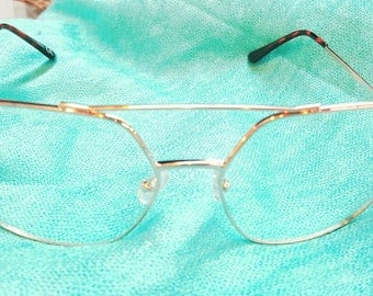 Oversize Aviator Clear Glasses
