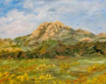 Hollister Peak, San Luis Obispo