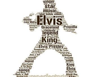 Elvis Wordart