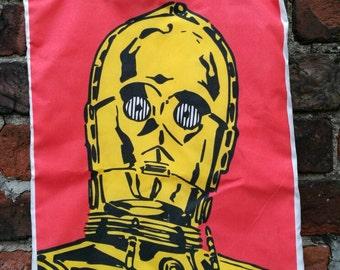Star Wars C3-PO large tote bag