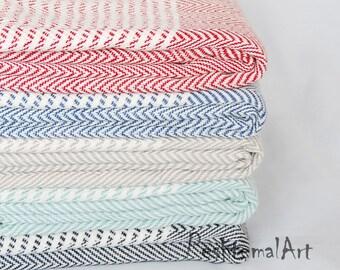 Peshtemal, Herringbone Turkish Towel, Beach Towel, Turkish Bath Towel, Wholesale Turkish Towel, Fouta, ernblk